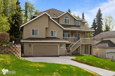 Chugiak, Eagle River Single Family Home For Sale: 10721 Sarah Barton Circle