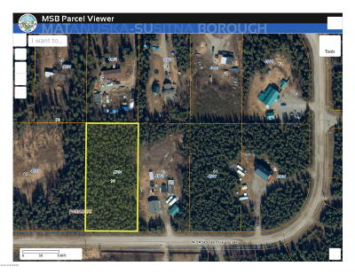Wasilla AK Residential Lots & Land For Sale: $17,000
