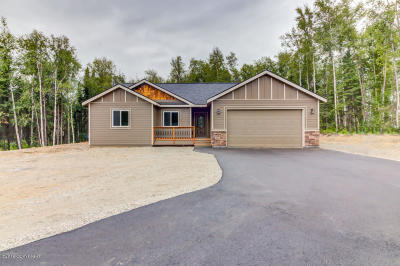 Wasilla Single Family Home For Sale: 4848 W Upstream