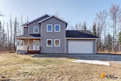 Wasilla Single Family Home For Sale: 3570 W Lynn Drive