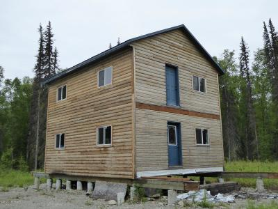 Talkeetna Single Family Home For Sale: 30051 S Mastodon Road