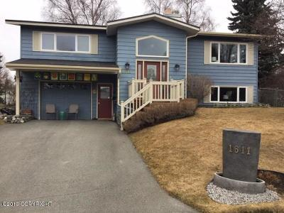 Anchorage Single Family Home For Sale: 1611 Cara Loop