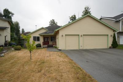 Chugiak, Eagle River Single Family Home For Sale: 16628 Baird Circle