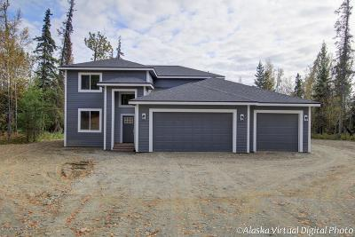 Wasilla Single Family Home For Sale: 9406 W Keshon Circle