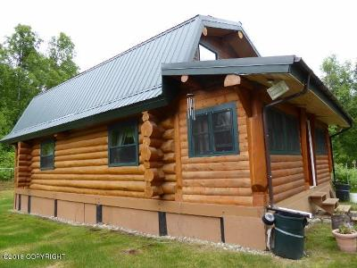 Talkeetna Single Family Home For Sale: 81-196 S Talkeetna River Trail