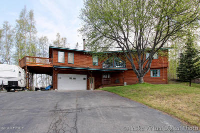 Chugiak, Eagle River Single Family Home For Sale: 11043 Tsusena Circle