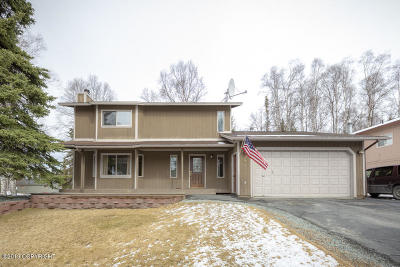Chugiak, Eagle River Single Family Home For Sale: 17517 Kiloana Court
