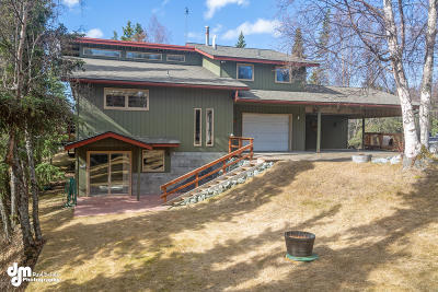 Anchorage Single Family Home For Sale: 4700 Rabbit Creek Road