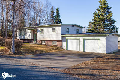 Anchorage Single Family Home For Sale: 14200 Sunview Drive
