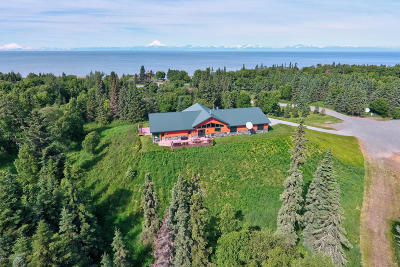 Kenai Single Family Home For Sale: 33846 Kalifornsky Beach Road