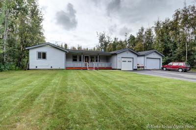 Wasilla Single Family Home For Sale: 3530 W Riverdell Drive