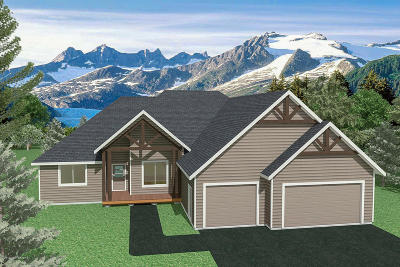 Anchorage, Eagle River, Palmer, Wasilla Single Family Home For Sale: 3536 S Barn Gable Loop