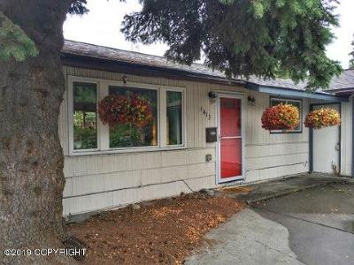 Anchorage Single Family Home For Sale: 1413 N Street