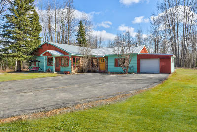 Soldotna, Sterling, Kenai Single Family Home For Sale: 34275 Scout Lake Loop Road