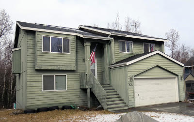 Wasilla Single Family Home For Sale: 7041 W Vandenburg Drive