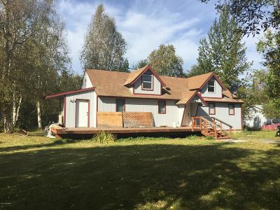Wasilla Single Family Home For Sale: 9017 W O'brien Creek Drive