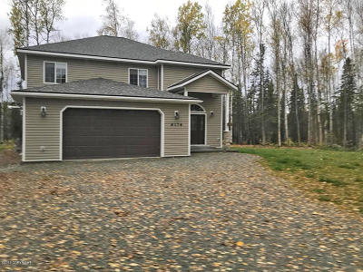 Wasilla Single Family Home For Sale: 6176 S Slipstream Circle