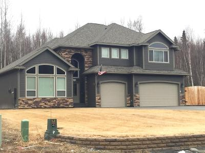 Big Lake, Palmer, Sutton, Wasilla, Willow Single Family Home For Sale: 5167 E Henhouse Loop