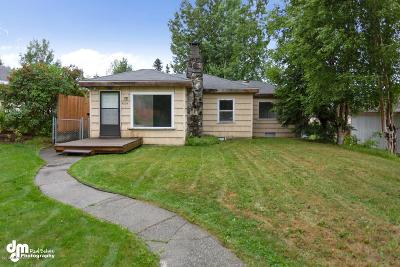 Anchorage Single Family Home For Sale: 4204 Harrison Street
