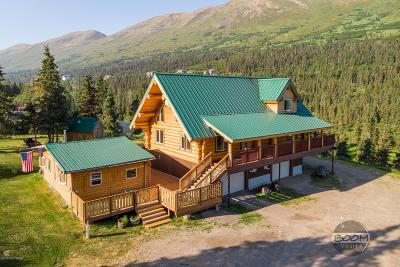 Chugiak, Eagle River Single Family Home For Sale: 3032 Sun Valley Drive