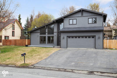 Anchorage Single Family Home For Sale: 12681 Mariner Drive