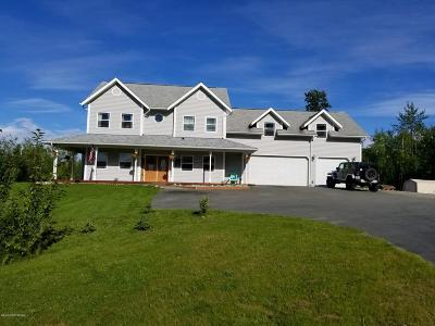 Wasilla Single Family Home For Sale: 3397 N Inspiration Loop
