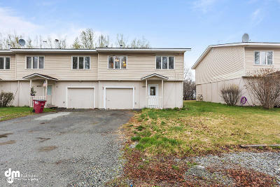 1D - Matanuska Susitna Borough Condo/Townhouse For Sale: 5202 S Outrigger Drive #7