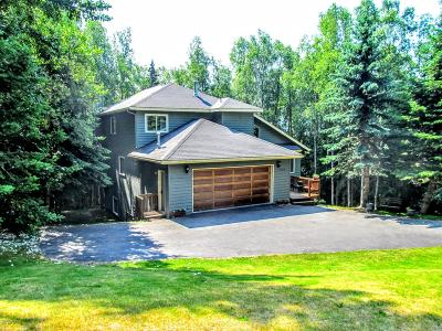 Chugiak, Eagle River Single Family Home For Sale: 10219 Stewart Drive