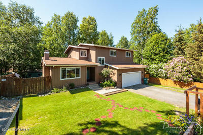 Anchorage, Eagle River, Girdwood, Chugiak Single Family Home For Sale: 12801 Nora Drive