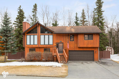 Eagle River Single Family Home For Sale: 19806 S Montague Loop