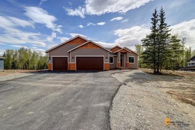 Big Lake, Palmer, Sutton, Wasilla, Willow Single Family Home For Sale: 2560 W Angela Drive
