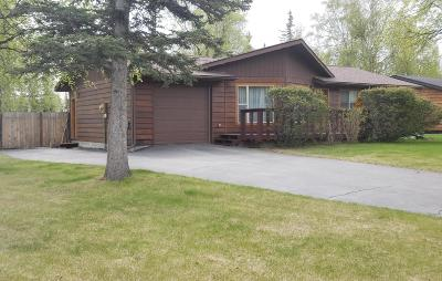 Wasilla Single Family Home For Sale: 1180 E McKee Court