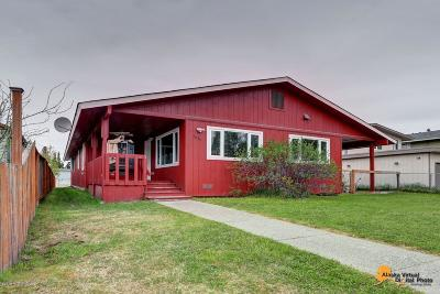 Anchorage Single Family Home For Sale: 3836 Williams Street