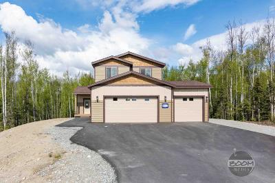 Big Lake, Palmer, Sutton, Wasilla, Willow Single Family Home For Sale: 2725 W Angela Drive