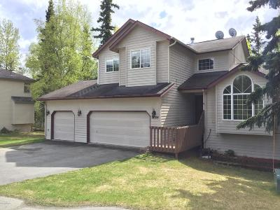 Eagle River Single Family Home For Sale: 18924 Sokolof Circle