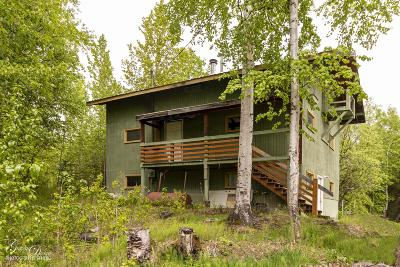 Wasilla Single Family Home For Sale: 2001 N Cottonwood Loop