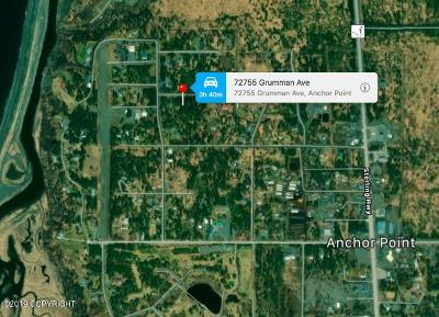 Anchor Point Residential Lots & Land For Sale: 72755 Grumman Avenue
