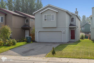 Anchorage Single Family Home For Sale: 8747 Brookridge Drive