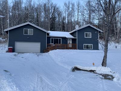 Wasilla Single Family Home For Sale: 2441 Cottonwood Loop