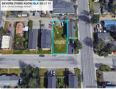 Anchorage Residential Lots & Land For Sale: 837 11th Avenue
