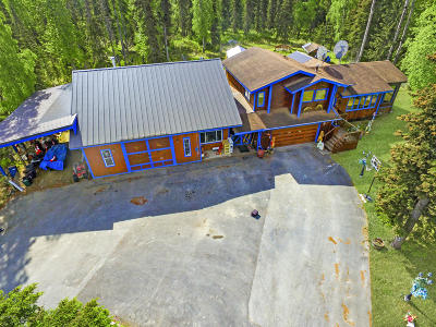 Soldotna Single Family Home For Sale: 39597 Grouse Drive