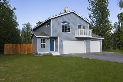 Wasilla Single Family Home For Sale: 6615 S Settlers Bay Drive