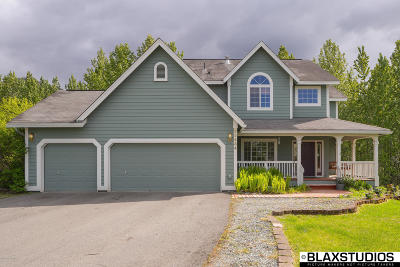Chugiak, Eagle River Single Family Home For Sale: 23434 Glenn Hill Circle