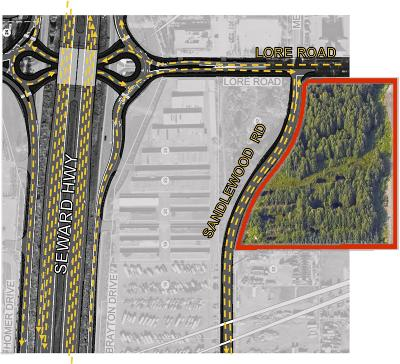 Anchorage Residential Lots & Land For Sale: Hartzell Road