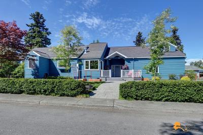 Anchorage Single Family Home For Sale: 941 W 16th Avenue