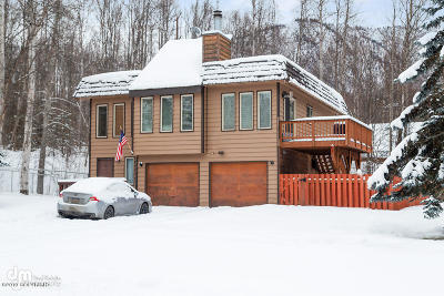 Chugiak Single Family Home For Sale: 27306 Goshawk Court