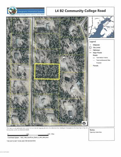 Soldotna Residential Lots & Land For Sale: L4 B2 Community College Drive