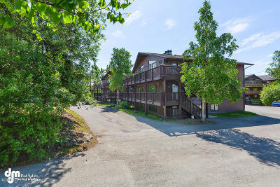 Anchorage Condo/Townhouse For Sale: 8632 Boundary Avenue #P6