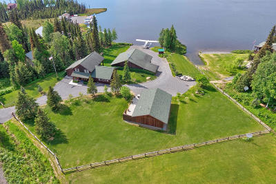 Soldotna Single Family Home For Sale: 38001 Mackey Lake Road