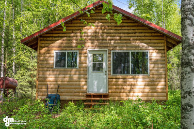 Wasilla Single Family Home For Sale: 3116 N Loon Shore Drive